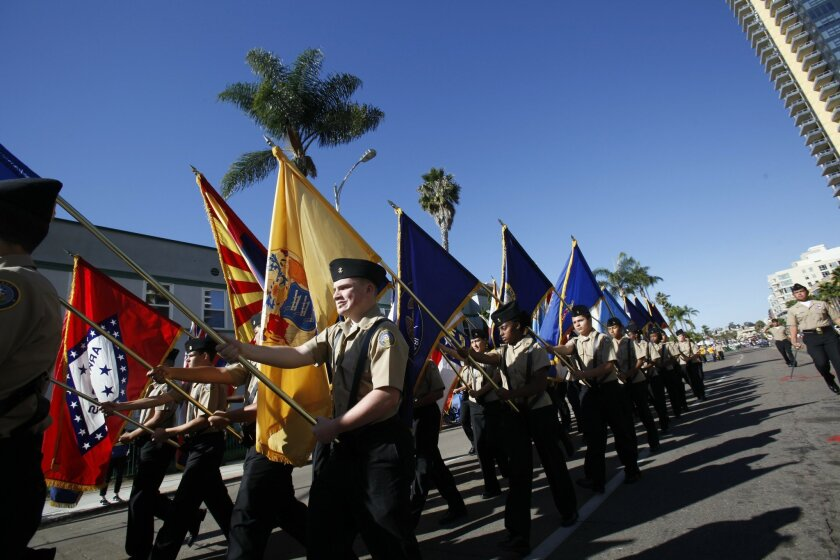 San Diego County Veterans Day Parade