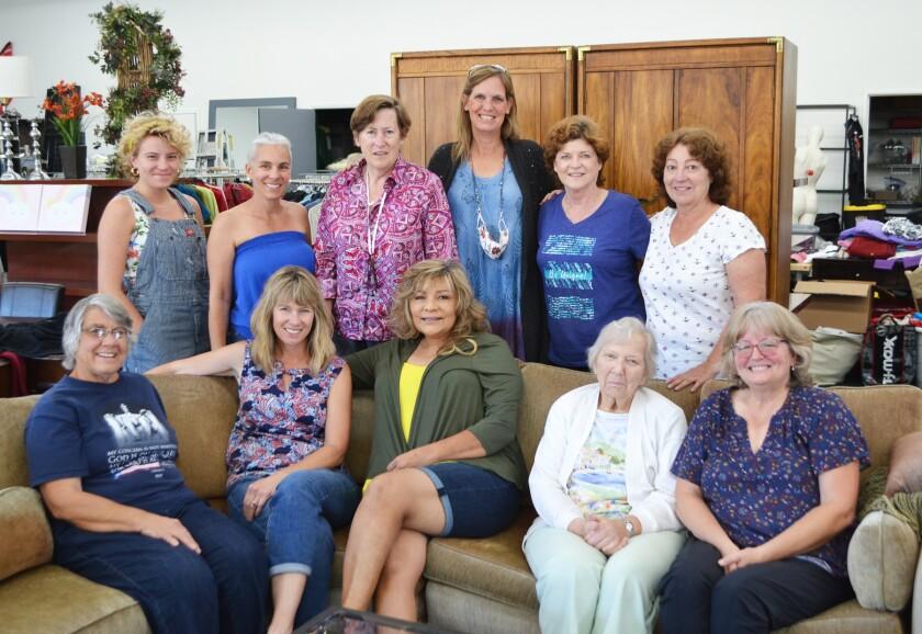 Poway Valley Senior Citizens Corporation board members and volunteers.