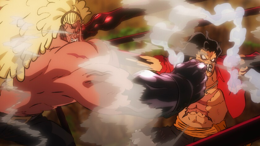 Review One Piece Stampede Marks Franchise S 20th Anniversary Los Angeles Times