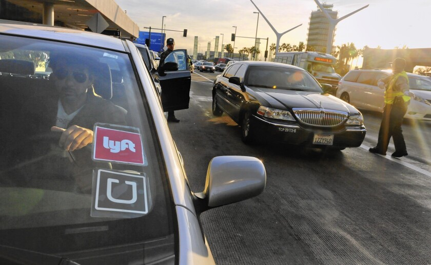 Lyft grows as a rival to Uber
