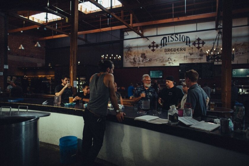 On Oct. 2, 2017, Mission Brewery began soliciting $1 million in funds from the general public through crowdfunding. (Courtesy photo)