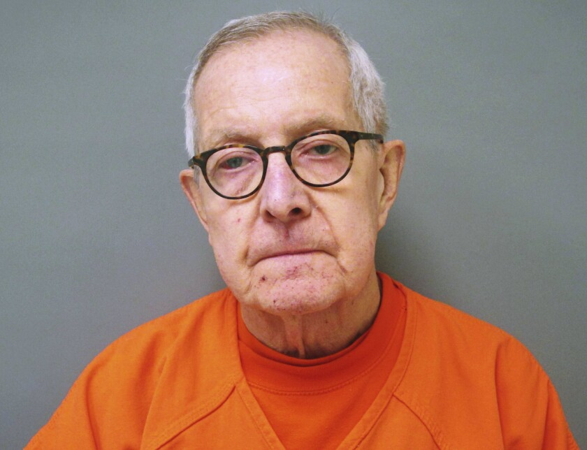 Ronald Paquin was found guilty Thursday of abusing a boy in Maine in the 1980s.