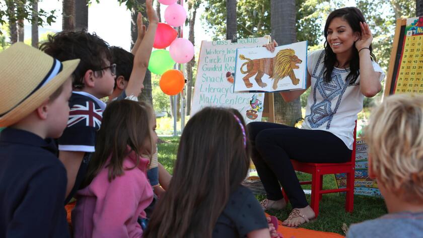 KinderPrep es un programa de verano de una semana de duración en Santa Mónica. Allí asisten los niños que ingresarán al jardín de niños.