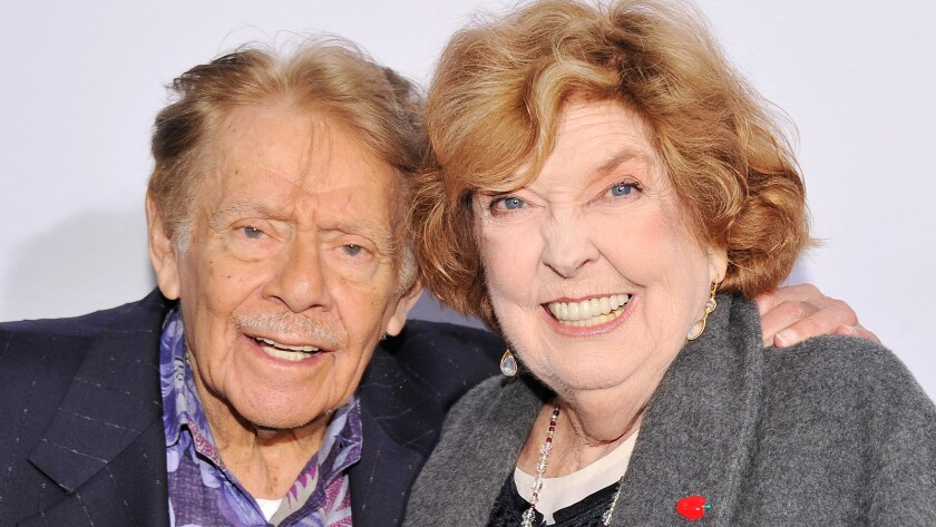 Actors/comedians Jerry Stiller and Anne Meara attend the 2012 Made In NY Awards at Gracie Mansion in New York City.