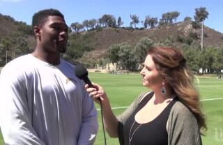 Chargers LB Joshua Perry on police shootings, racial profiling & his autistic brother