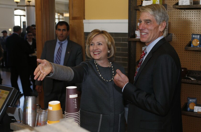 Hillary Clinton, Mark Udall