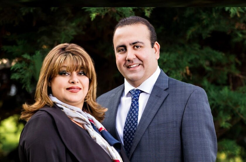 Peggy and Farid Khayamian of Bluxen Real Estate