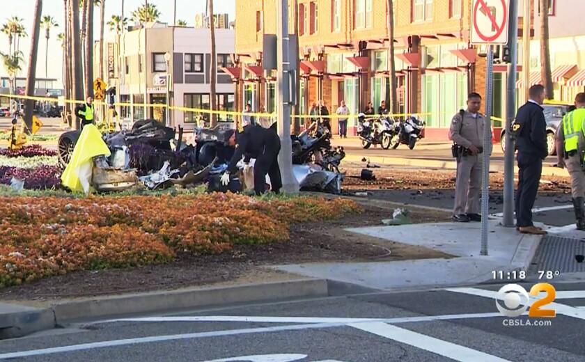 Newport Beach Crash
