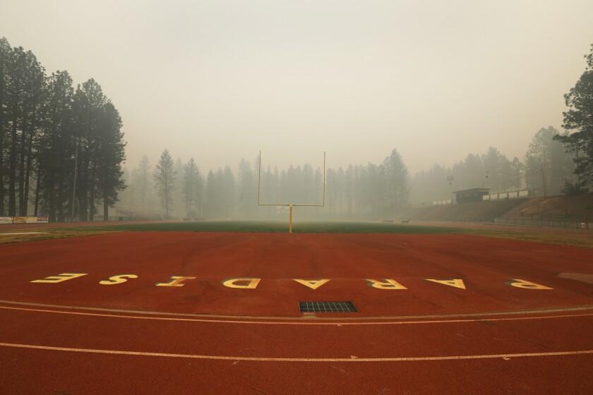 Paradise High School in November 2018.