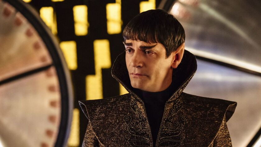"James Frain as Ambassador Sarek on ""Star Trek: Discovery,"" available on the CBS All Access service"