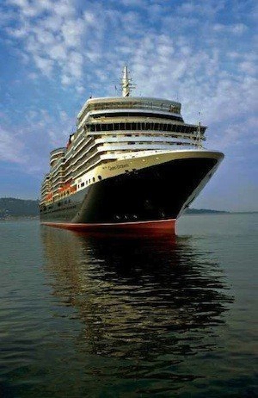 Cunard's one-week cruise sale applies to sailing on the Queen Elizabeth, shown here, the Queen Mary 2 and the Queen Victoria.