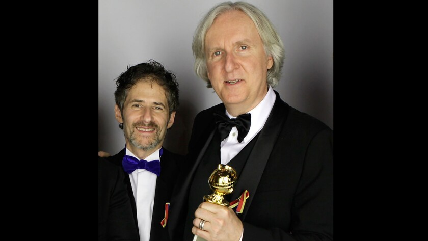 James Horner and James Cameron