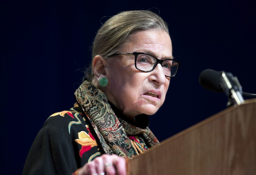 """On Friday, Supreme Court Justice Ruth Bader Ginsburg saidshe should not have denounced NFL quarterback Colin Kaepernick's silent protests during the national anthem as """"dumb"""" and """"disrespectful."""""""
