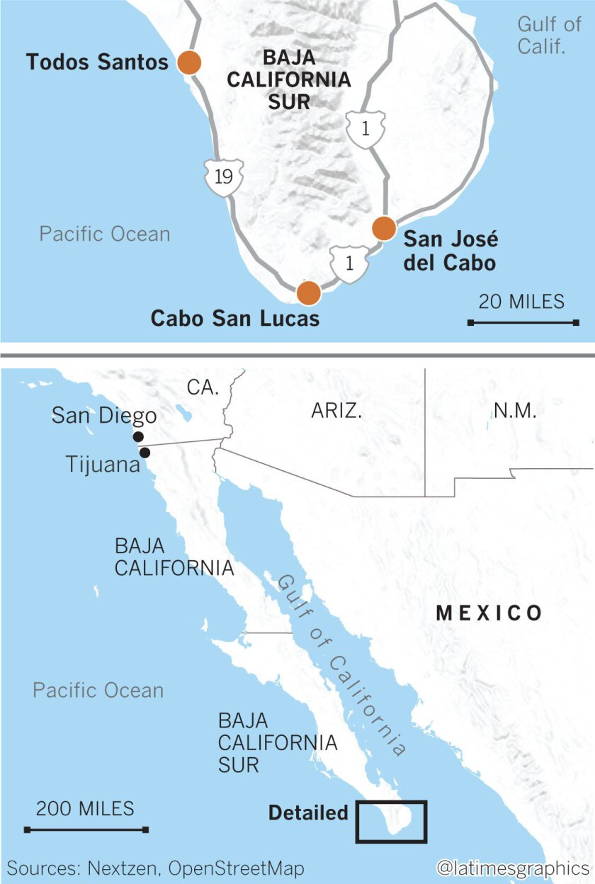 In Los Cabos Mexico Luxury Hotels Lure Grownups With Cushy