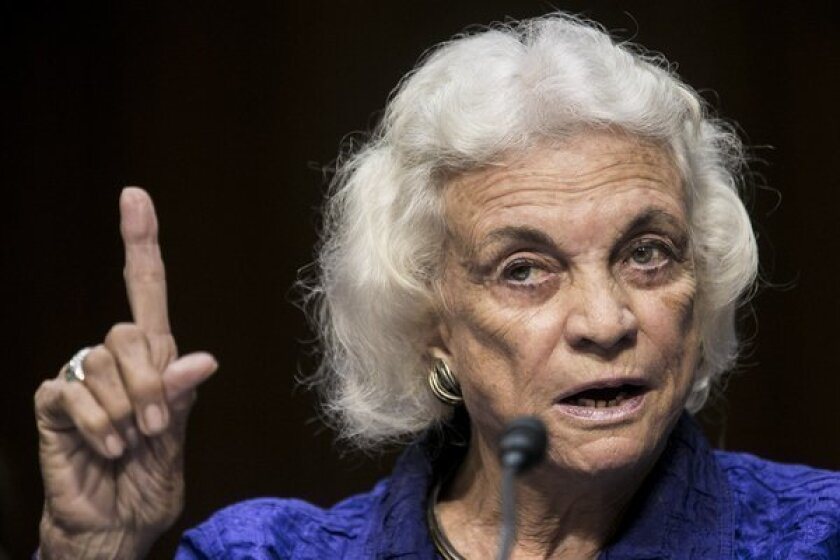 """Former Supreme Court Justice Sandra Day O'Connor believes the nation is """"absolutely"""" ready for a female president."""