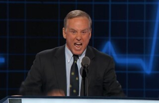 Howard Dean speaks at the Democratic National Convention