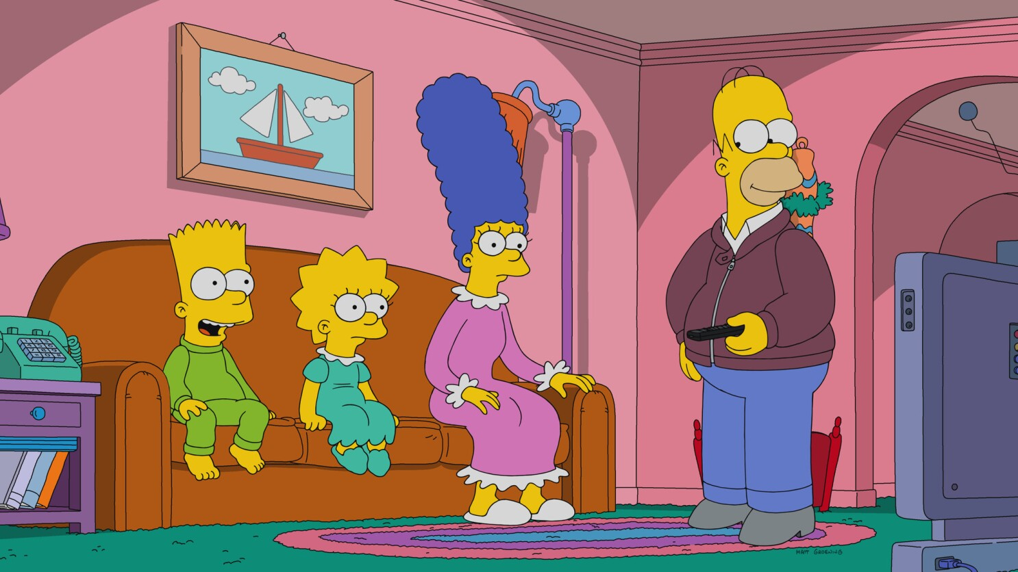 Fox Renews The Simpsons For Two More Seasons As It Plots Life Post Disney Deal Los Angeles Times