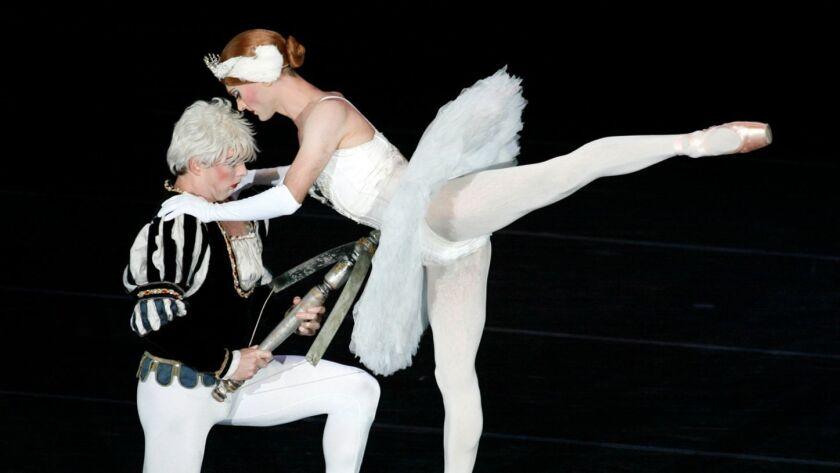 The all-male troupe Les Ballets Trockadero de Monte Carlo returns to the Carpenter Center in Long Beach.