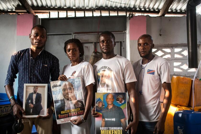 Collectif 2016 pro-democracy movement Rossy Mukendi DRC