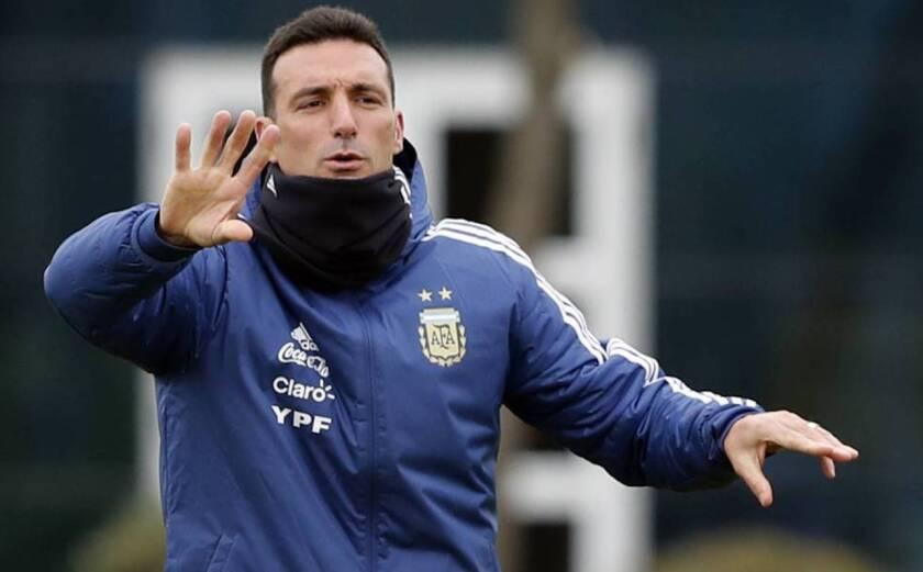 Lionel Scaloni, entrenador de Argentina.