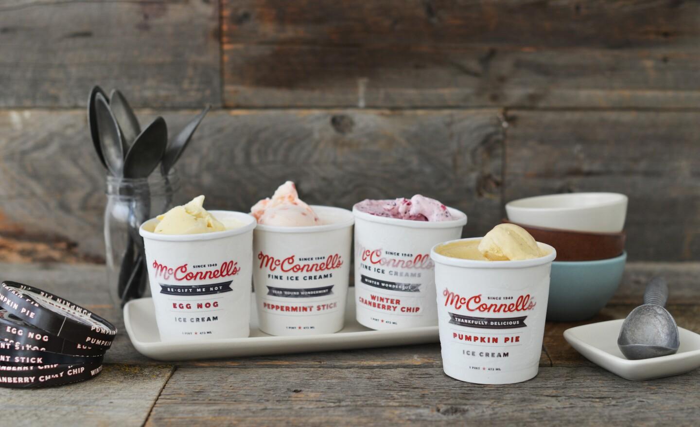 The Santa Barbara-based, family-owned ice cream company makes custom gift packs.