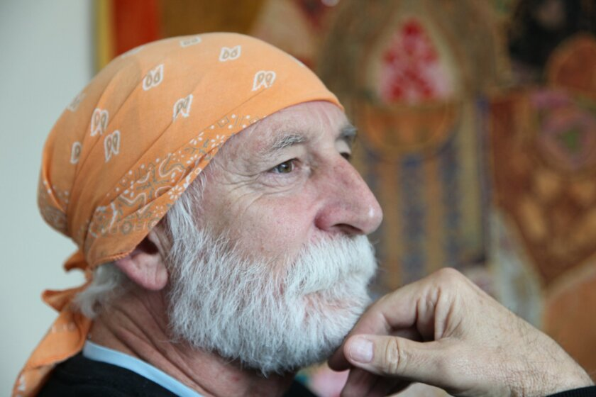 Michael DeFrancisco of La Jolla's Blessing Meditation Center