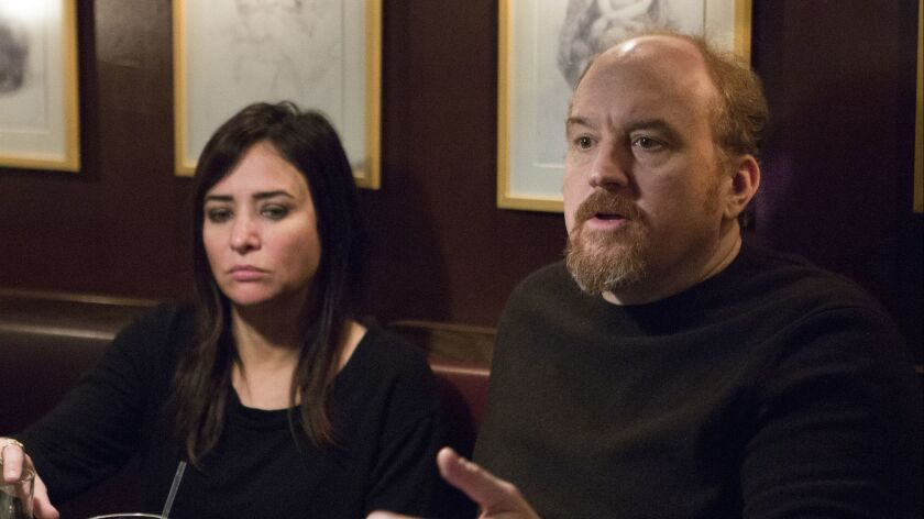 """Before working with Louis C.K. on the first two seasons of """"Better Things,"""" Adlon appeared frequently on his FX comedy """"Louie"""" and wrote several episodes of the series."""