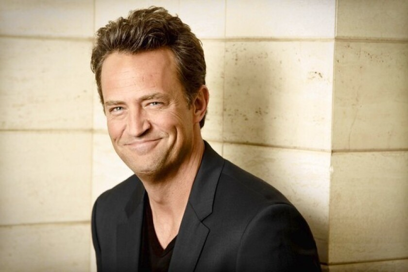 "In ""Go On,"" which premieres Tuesday, Matthew Perry makes his comedic return."