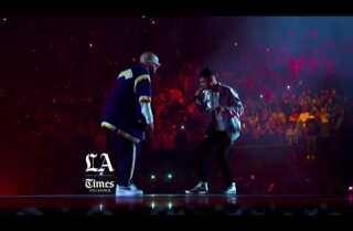 Bad Bunny y Natanael Cano cantan en vivo 'Soy El Diablo' desde El Forum de Los Ángeles