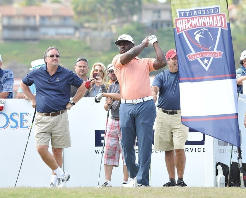 Marshall Faulk will host the Celebrity Championship for the fourth time.