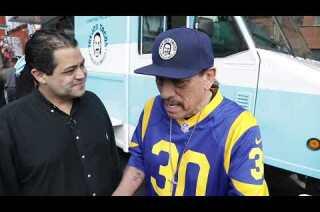Actor Danny Trejo brings his Trejo's Tacos truck to Atlanta