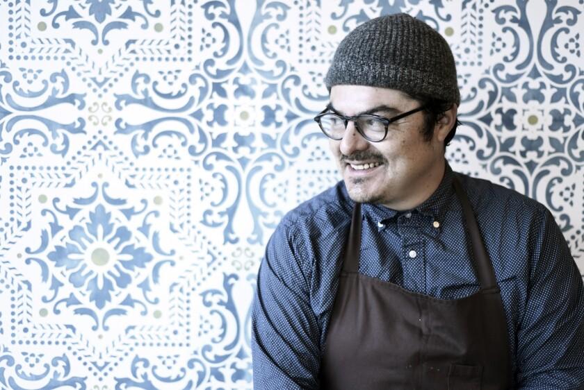 Taco María chef and owner Carlos Salgado