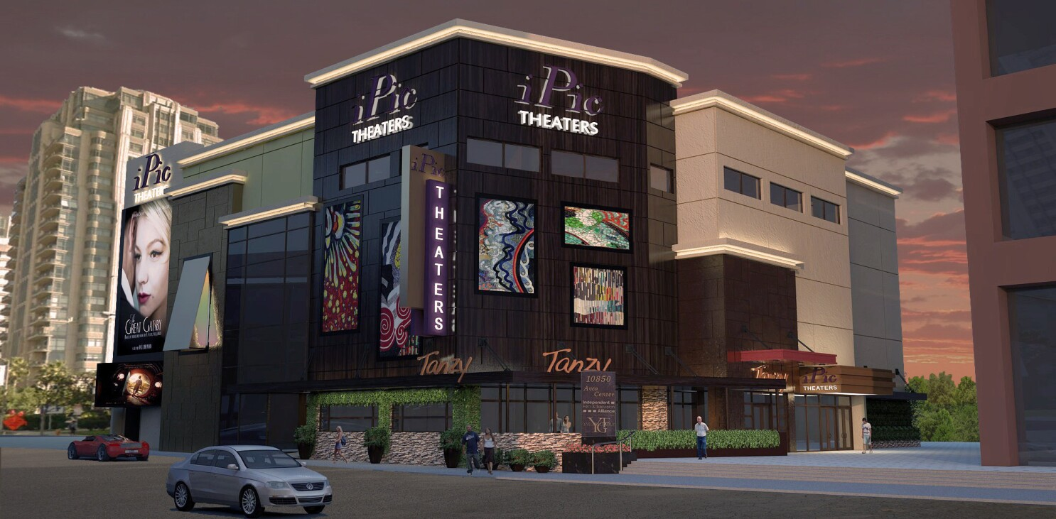 Ipic To Bring Luxury Cinema To Westwood Los Angeles Times