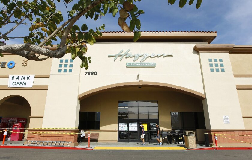A new Haggen supermarket is set to open in Carlsbad Wednesday. The chain plans to open a number of stores in San Diego.