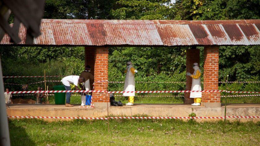 Ebola outbreak in Bikoro, DR Congo, Congo, The Democratic Republic Of The - 12 May 2018