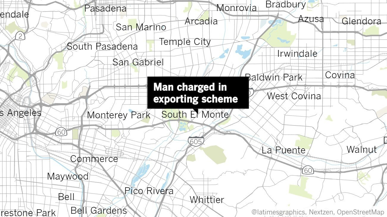 South El Monte man charged with illegally exporting cesium