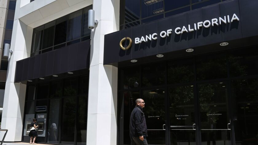 Banc of California is under pressure from a major shareholder to launch an independent investigation into the relationships between people close to the bank and an L.A. financier who pleaded guilty to securities fraud.