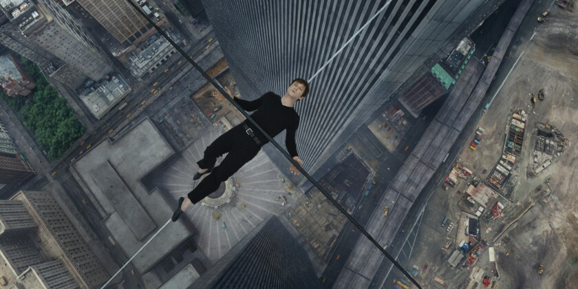'The Walk' a dazzling re-creation of daredevil walk between World Trade Center towers