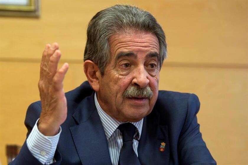 Fotografía del presidente de Cantabria, Miguel Ángel Revilla. EFE/Archivo
