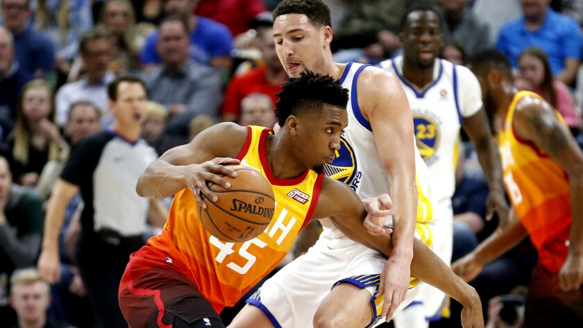 Donovan Mitchell, Klay Thompson