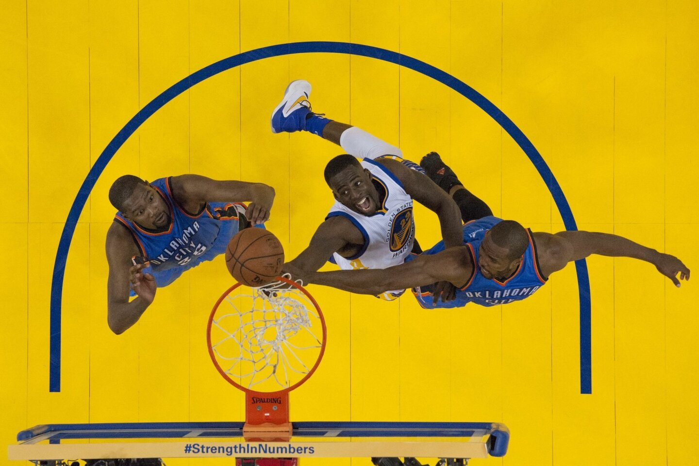 Some little known facts about the Warriors and the Thunder