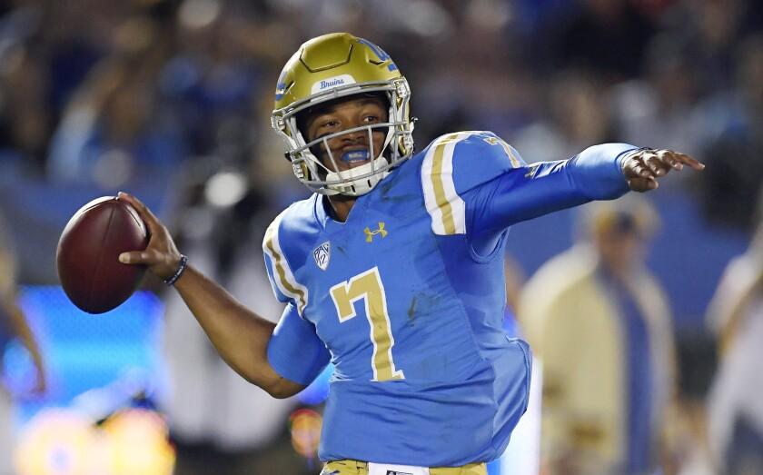 UCLA quarterback Dorian Thompson-Robinson
