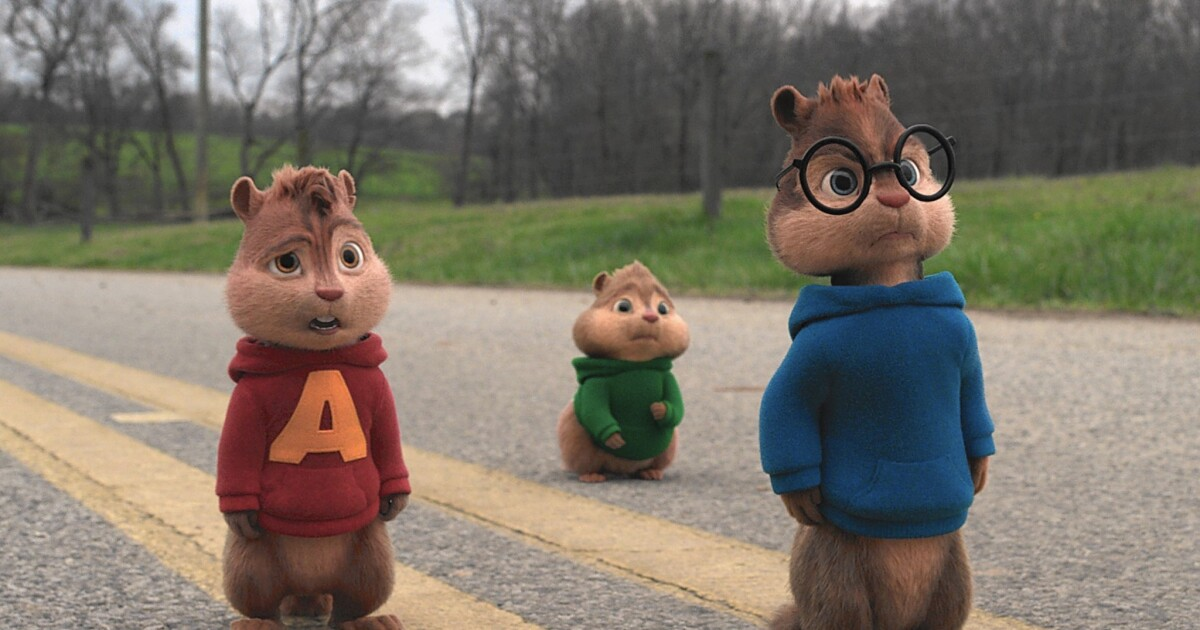 Review Alvin And The Chipmunks The Road Chip Is A Nutty Trip Los Angeles Times