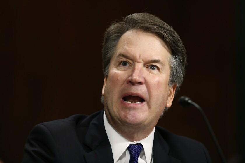 Supreme Court nominee Brett Kavanaugh spoke before the Senate Judiciary Committee Thursday.