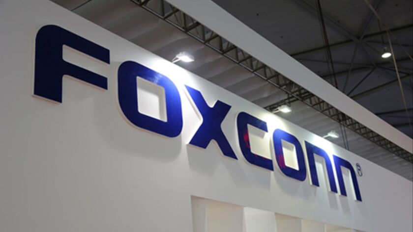 Foxconn Technology Group is seeking an air emissions permit and the right to tap 7 million gallons of water a day from Lake Michigan for its planned plant in Mount Pleasant, Wis.