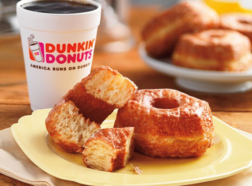 Dunkin' Donuts Croissant Donuts