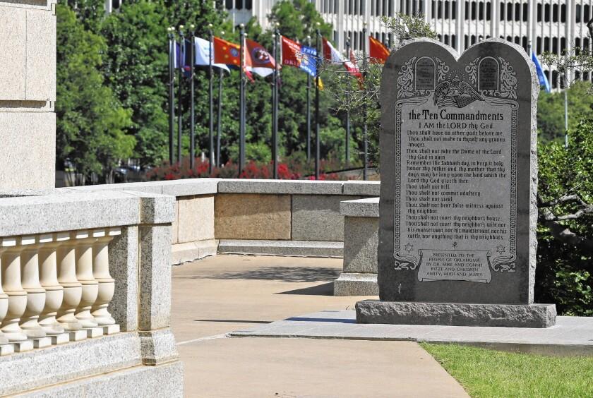Ten Commandments in Oklahoma