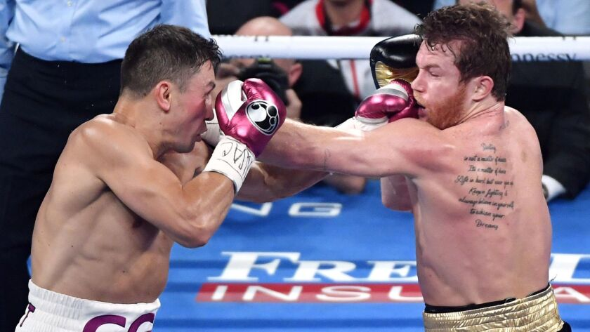 A Gennady Golovkin-Canelo Alvarez rematch seems likely this year.