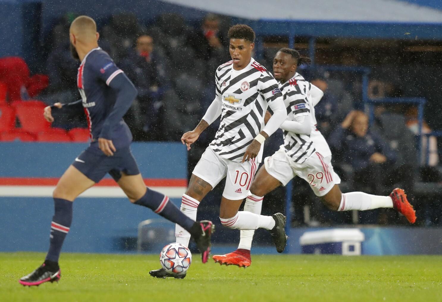 Deja Vu Rashford Haunts Psg As United Wins 2 1 In Paris The San Diego Union Tribune