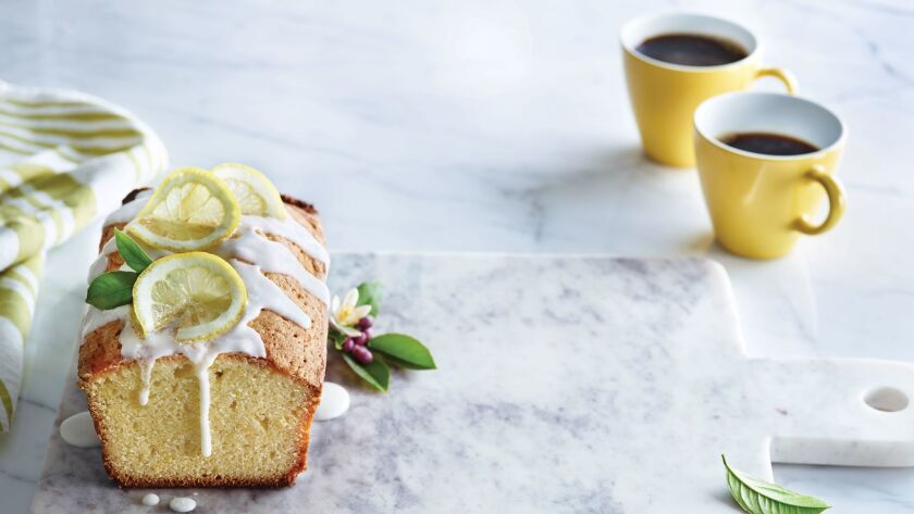 "Luscious Lemon Loaf, from ""Cake, I Love You."""